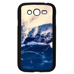 Antarctica Mountains Sunrise Snow Samsung Galaxy Grand DUOS I9082 Case (Black)