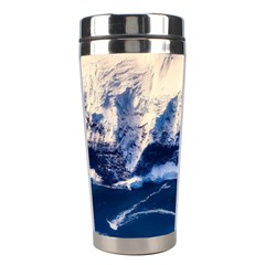 Antarctica Mountains Sunrise Snow Stainless Steel Travel Tumblers