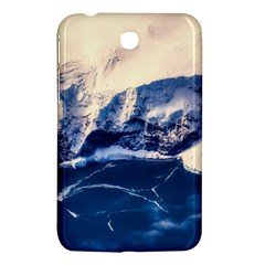 Antarctica Mountains Sunrise Snow Samsung Galaxy Tab 3 (7 ) P3200 Hardshell Case