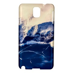 Antarctica Mountains Sunrise Snow Samsung Galaxy Note 3 N9005 Hardshell Case