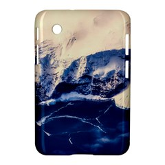 Antarctica Mountains Sunrise Snow Samsung Galaxy Tab 2 (7 ) P3100 Hardshell Case