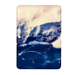 Antarctica Mountains Sunrise Snow Samsung Galaxy Tab 2 (10.1 ) P5100 Hardshell Case