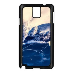 Antarctica Mountains Sunrise Snow Samsung Galaxy Note 3 N9005 Case (black)