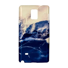 Antarctica Mountains Sunrise Snow Samsung Galaxy Note 4 Hardshell Case