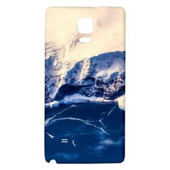 Antarctica Mountains Sunrise Snow Galaxy Note 4 Back Case