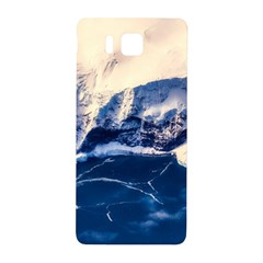 Antarctica Mountains Sunrise Snow Samsung Galaxy Alpha Hardshell Back Case