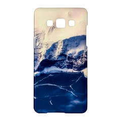 Antarctica Mountains Sunrise Snow Samsung Galaxy A5 Hardshell Case