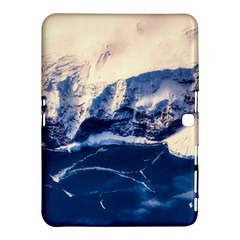 Antarctica Mountains Sunrise Snow Samsung Galaxy Tab 4 (10.1 ) Hardshell Case