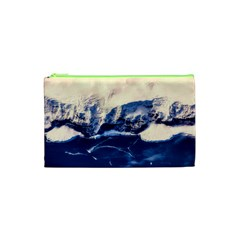 Antarctica Mountains Sunrise Snow Cosmetic Bag (XS)