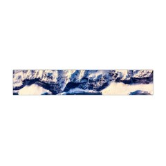 Antarctica Mountains Sunrise Snow Flano Scarf (Mini)