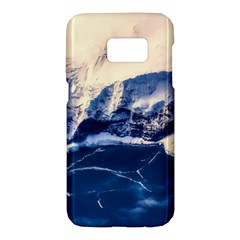 Antarctica Mountains Sunrise Snow Samsung Galaxy S7 Hardshell Case