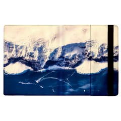 Antarctica Mountains Sunrise Snow Apple Ipad Pro 9 7   Flip Case by BangZart