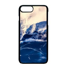Antarctica Mountains Sunrise Snow Apple iPhone 7 Plus Seamless Case (Black)