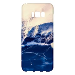 Antarctica Mountains Sunrise Snow Samsung Galaxy S8 Plus Hardshell Case