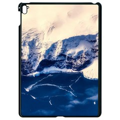 Antarctica Mountains Sunrise Snow Apple iPad Pro 9.7   Black Seamless Case