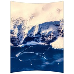 Antarctica Mountains Sunrise Snow Back Support Cushion