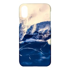 Antarctica Mountains Sunrise Snow Apple Iphone X Hardshell Case by BangZart