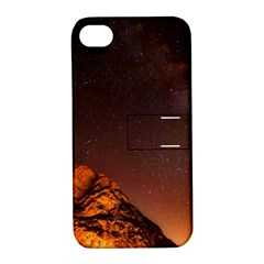 Italy Night Evening Stars Apple Iphone 4/4s Hardshell Case With Stand