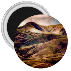 Iceland Mountains Sky Clouds 3  Magnets by BangZart