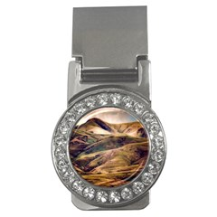 Iceland Mountains Sky Clouds Money Clips (cz)