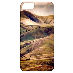 Iceland Mountains Sky Clouds Apple Iphone 5 Classic Hardshell Case by BangZart