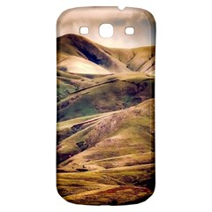 Iceland Mountains Sky Clouds Samsung Galaxy S3 S Iii Classic Hardshell Back Case