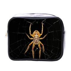 Insect Macro Spider Colombia Mini Toiletries Bags by BangZart