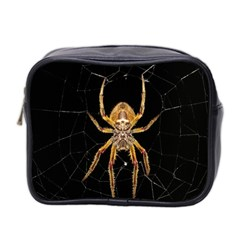Insect Macro Spider Colombia Mini Toiletries Bag 2 Side by BangZart