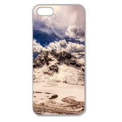Italy Landscape Mountains Winter Apple Seamless Iphone 5 Case (clear)