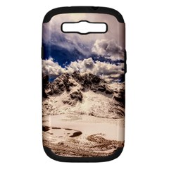 Italy Landscape Mountains Winter Samsung Galaxy S Iii Hardshell Case (pc+silicone)