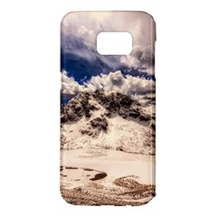 Italy Landscape Mountains Winter Samsung Galaxy S7 Edge Hardshell Case