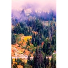 Landscape Fog Mist Haze Forest 5 5  X 8 5  Notebooks by BangZart