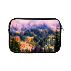 Landscape Fog Mist Haze Forest Apple Ipad Mini Zipper Cases by BangZart