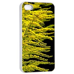 Golden Rod Gold Diamond Apple Iphone 4/4s Seamless Case (white) by BangZart