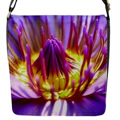 Flower Blossom Bloom Nature Flap Messenger Bag (s)