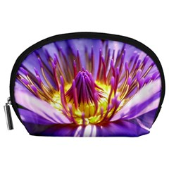 Flower Blossom Bloom Nature Accessory Pouches (large)