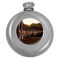 Viaduct Structure Landmark Historic Round Hip Flask (5 Oz) by BangZart