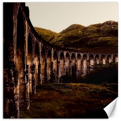 Viaduct Structure Landmark Historic Canvas 12  X 12   by BangZart