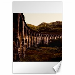Viaduct Structure Landmark Historic Canvas 12  X 18