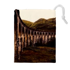 Viaduct Structure Landmark Historic Drawstring Pouches (extra Large)