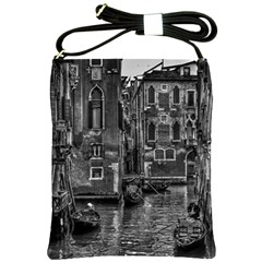 Venice Italy Gondola Boat Canal Shoulder Sling Bags by BangZart