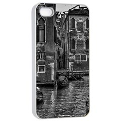 Venice Italy Gondola Boat Canal Apple Iphone 4/4s Seamless Case (white) by BangZart