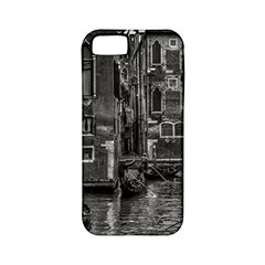 Venice Italy Gondola Boat Canal Apple Iphone 5 Classic Hardshell Case (pc+silicone) by BangZart