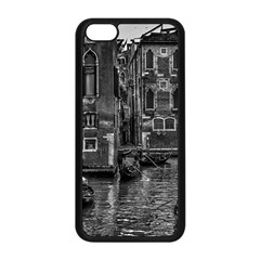 Venice Italy Gondola Boat Canal Apple Iphone 5c Seamless Case (black) by BangZart
