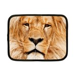Africa African Animal Cat Close Up Netbook Case (Small)  Front