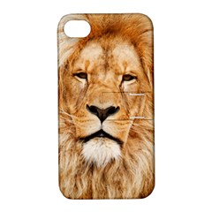 Africa African Animal Cat Close Up Apple Iphone 4/4s Hardshell Case With Stand