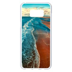 Sea Ocean Coastline Coast Sky Samsung Galaxy S8 Plus White Seamless Case