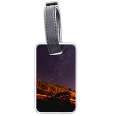 Italy Cabin Stars Milky Way Night Luggage Tags (one Side)  by BangZart