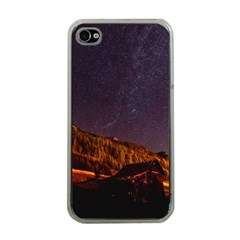 Italy Cabin Stars Milky Way Night Apple Iphone 4 Case (clear) by BangZart