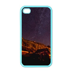 Italy Cabin Stars Milky Way Night Apple Iphone 4 Case (color)